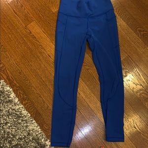 Lululemon high rise pocket leggings